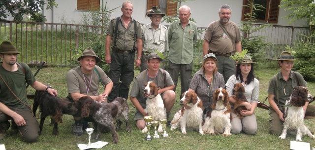 Klubové lesné skúšky malých plemien