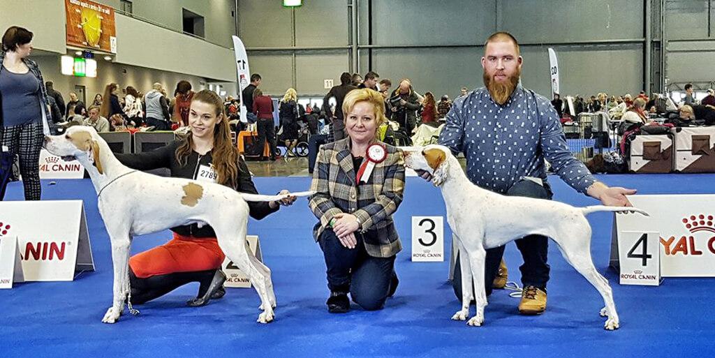 2.-3.2.2019 Medzinárodná výstava psov DUO CACIB Brno /CZ