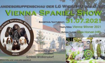 Vienna Winner Spaniel Show